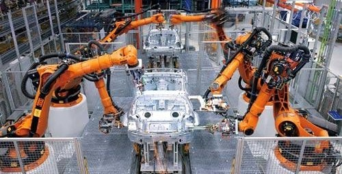Industrial rtobots for automotive industry